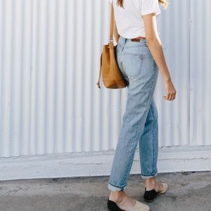 "Madewell ""Perfect Summer Jean"" High waisted jean"